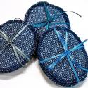 Moufles en cuir et laine naturelle pour enfant - Saling