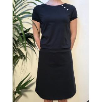 Navy Margot dress