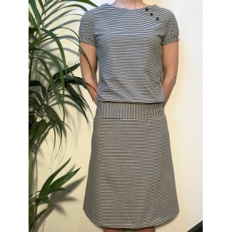 Striped Margot dress