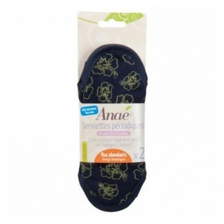 2 sanitary pads, Large