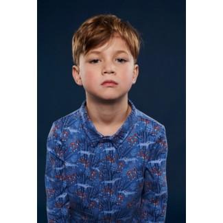 Blue Lucas Shirt By Lily-Balou