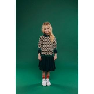 Green Adele Skirt By...