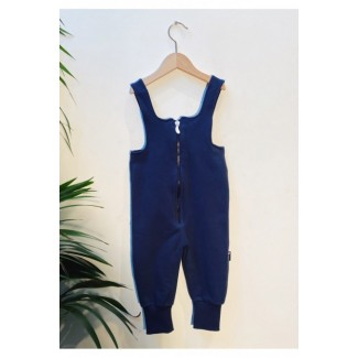 Navy Dungarees By L'Asticot
