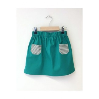 Skirt With Pockets Green