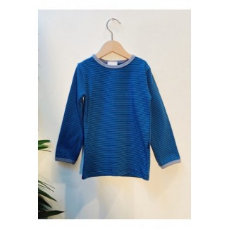 Blue Striped T-Shirt By...