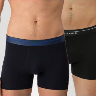 CASUAL BOXER Navy/Black