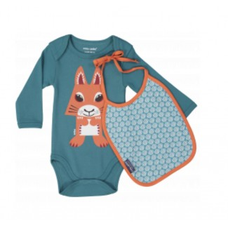 Squirrel Body and Bib Set...
