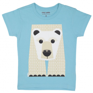 Polar Bear T-Shirt By Coq...