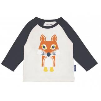 Raglan fox long sleeves...