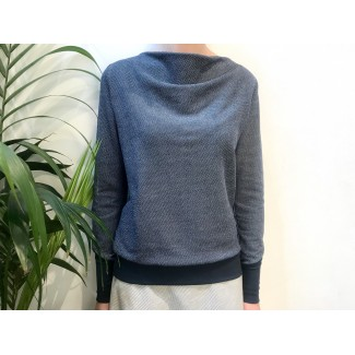 Navy Speckled Muriel JUMPER