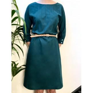 Green Serenella dress