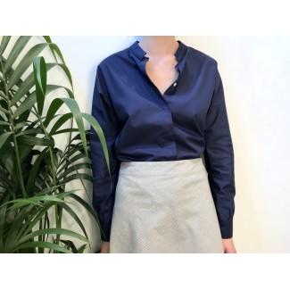 Navy Salma Shirt