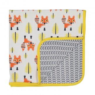 Fox Blanket By Coq En Pâte