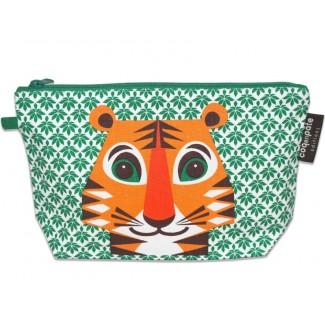 Tiger Toilet Bag