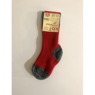 Red Woolen Kid's Socks By...
