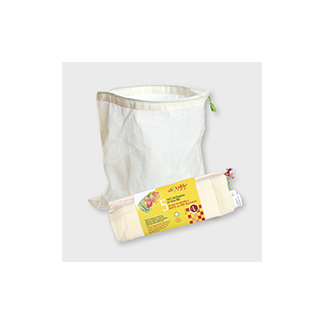 Reusable organic cotton bags