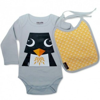 Penguin Body and Bib Set By...