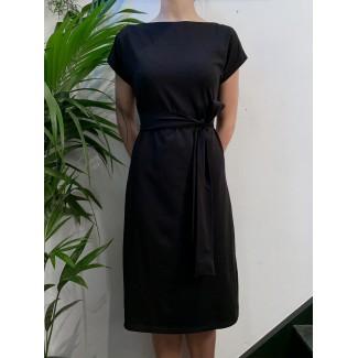 Black Plume dress