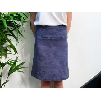 Blue off-white Speckled skirt