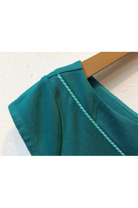 Mitaines en laine de bébé alpaga - De Colores